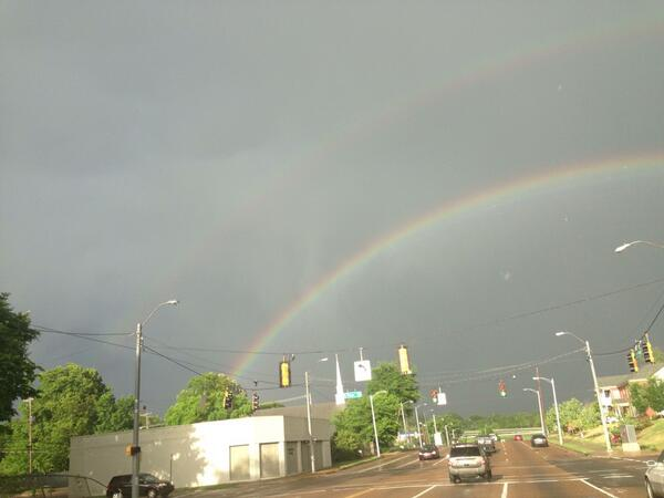 #Memphis #weather this rainbow @actionnews5 http://t.co/G7RxIqQLe9