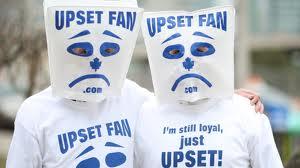 upset fan