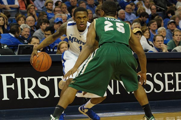 Joe Jackson looks to get the Tigers their first NCAA tournament win under Coach Josh Pastner.  Photo by Justin Ford