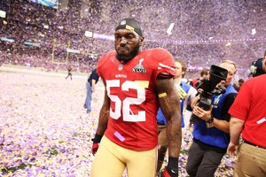 Last year was a bitter sweet one for Willis and the 49ers, who advanced to the Super Bowl for the first time in 19 years before falling to the Baltimore Ravens, 34-31. (Photo by Christian Peterson/Getty Images)
