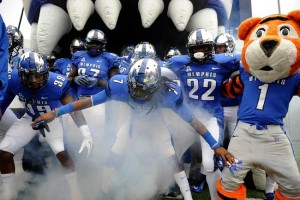 The University of Memphis has been to just seven bowl games in the history of the football program.  They will need to win out to make it to their eighth.  The Tigers currently have a bowl record of 4-3. -Photo by Justin Ford USA Today Sports-