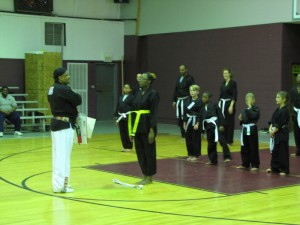 TRUE PRO --- Darren Yancey, an eight degree black belt, has been teaching martial arts for the past 26 years. The native Memphian runs Scorpion Marital Arts in Cordova, which is comprised of about 45 participants who train two nights a week at Hope Presbyterian Church. (Photos submitted by Avis Abram)