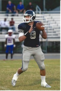 GAME CHANGER --- Shawnee (Okla.) High quarterback John Jacobs' talents as one of the nation's top high school prospect were on display in a recent combine in Memphis. The University of Memphis are among a host of schools that are recruiting the five-star, dual-threat prospect. (Photos submitted by John Jacobs, Jr.)