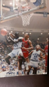 HUMAN HIGHLIGHT FILM --- Smith, played for the Tigers from 1988-92, was known primarily for his astouding leaping ability.