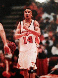 ROCKY TOP TONY --- Harris, a former Mr. Tennessee Class AAA Mr. Basketball starred at point guard for the Vols from 1997-2001 before playing professionally for seven years overseas. (File photo courtesy of UT Athletics)