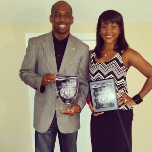TRUE CHAMPION --- Loper, pictured with his wife, Weslynne, has become a fixture in recent months because of his rapid success as an entrepreneur. Loper takes part in regular speaking engagements to discuss health, wellness, and living a carefree lifestyle.