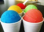 COOL TREATS --- Parker's Water Ice serves gelati and boasts well over 24 flavors of soft serve ice cream.