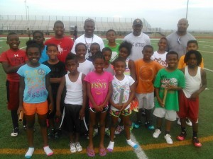 YOUNG ENERGY --- Texas SWAG has athletes as young as seven years old.