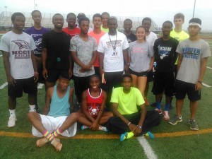 Texas SWAG Track And Field has more than doubled since its inception two years ago. The non-profit organization currently features as many as 90 athletes.
