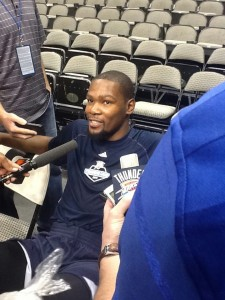 While addressing the media on Friday, Durant said he understood why he was criticized for bolting Team USA in August. Many speculated the five-time All-Star left the team, largely because he was affected by Paul George's season-ending leg injury during a scrimmage.