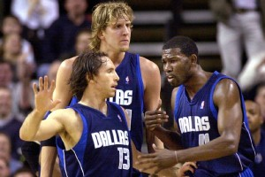 """HE SAID IT --- Said Nowitzki in Nash leaving Dallas for Phoenix: """"I was disappointed,"""" Nowitzki told MemphiSport following the Mavericks' 101-94 win against the San Antonio Spurs Tuesday night in American Airlines Center. """"That was pretty obvious. We thought originally that Fin (Michael Finley), myself, and Steve would have a long run together. But Phoenix swooped in and gave him a heckuva deal."""""""
