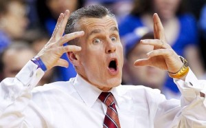 Billy Donovan has contributed to the basketball success of the SEC. He is the fifth highest paid college basketball coach in the nation and has led the Florida Gators to four Final Four appearances in his 19 years as head coach. He is also one of two coaches to reach 500 career wins before the age of 50.