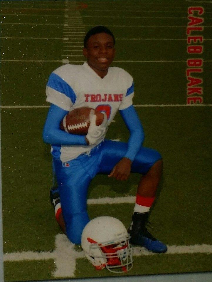 Caleb Blake Football