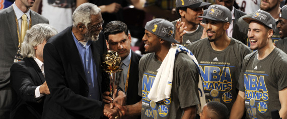 """HEART OF GOLD --- Iguodala during a live postgame interview deemed it necessary to thank the chaplains across the league for their dedicated pastoral service they rendered generously to him and his teammates.  """"""""I want to thank all the chaplains across the NBA for helping us out every single night,"""" Iguodala said after he became the first non-regular season starter in NBA history to be named the Finals Most Valuable Player. (Photo by David Liam/Getty Images)"""