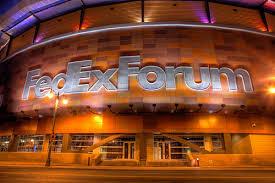 fedexforum night