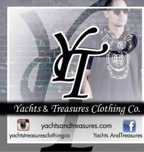 """NIFTY PRODUCT --- A 1995 graduate of Memphis Trezevant High, James Herndon is the founder of Yachts & TreasuresYachts & Treasures, an up-and-coming clothing line created to give consumers comfort and quality, yet stylish. Yachts & Treasures (or YT, as a majority of Herndon customers call it) is a rather unique brand Herndon acknowledges that represents integrity, particularly amongst those who are not afraid to """"have big dreams and try to pursue them."""" (Photos submitted by J. Herndon)"""