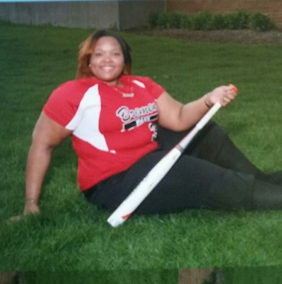 DIAMOND DREAMS --- While the softball diamond undoubtedly has proven to be a place of solitude and refuel for Makayla Denson, a rising senior first baseman at Bremen High School in Midlothian, Illinois, this prep athletic standout doesn't shy away from the notion that she boasts lofty aspirations of extending her playing career beyond high school. (Photos submitted by R. Denson)