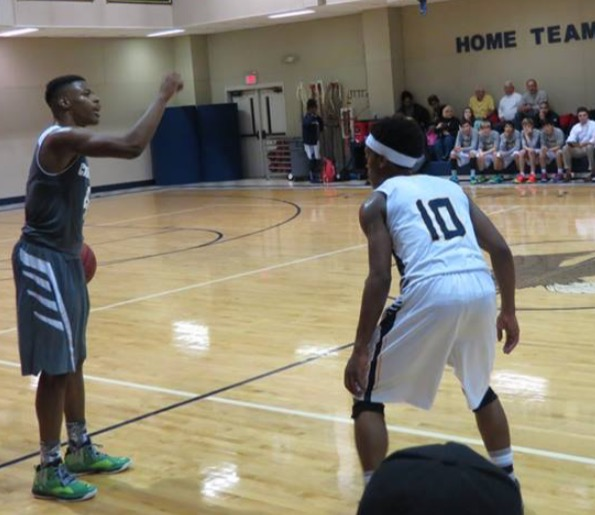 NATIONAL STANDOUT? Add to the fact that this up-and-coming hoops prodigy, who boasts lofty aspirations of playing at the collegiate and professional levels, have competed against a slew of the nation's finest amateur players --- most notably against Kenny Smith, Jr., the son of former NBA player and current TNT NBA analyst Kenny Smith --- and it's no wonder many who have followed the hoops prowess of Kari believe he will be as good as advertised this upcoming season.  And beyond.