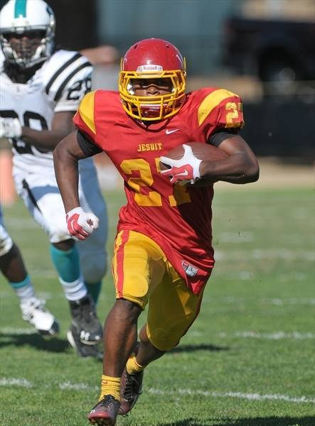 A TRUE TALENT --- Jamal-Milton was named the Shrine Bowl Most Valuable Player in  2011 while playing for the Rosemont Jr. Wolverines; Offensive MVP in 2012 while a member of Jesuit High's freshman team; MVP 2012 of Jesuit's freshman rugby squad in 2012; and Offensive MVP of Jesuit's junior varsity team in 2013.