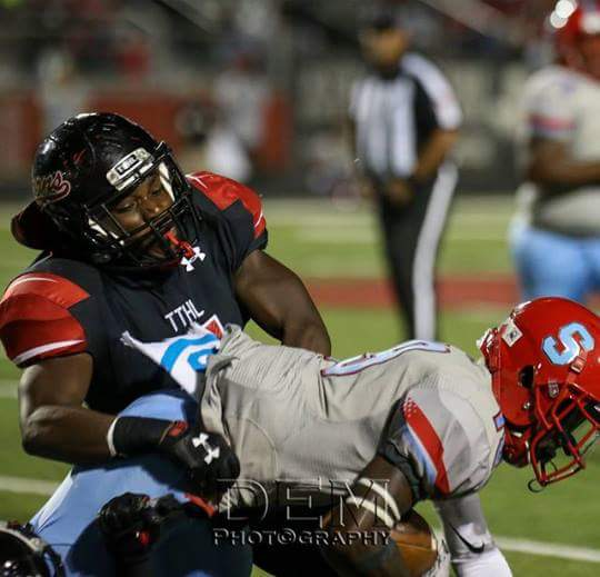 STAR WATCH --- As arguably one of the Cedar Hill's most efficient and durable pass rushers who has built a reputation for providing fits to the opposition, Xavier Hall has gone to great lengths to boost his recruiting stock, considering he is currently ranked as the 14th best high school linebackers in Texas, according to Maxpreps.com. (Photos submitted by J. Hall)