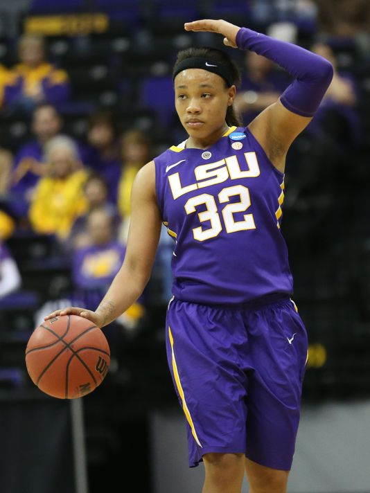 FIGHTIN' TIGER --- Prior to witnessing her collegiate career end prematurely, Ballard was the catalyst of an upstart Lady Tiger team that made consecutive NCAA Tournament Sweet 16 appearances. (Photo by Crystal LoGiudice/Getty Images)