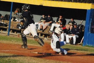 """MAKING PROGRESS --- Amongst Cody's key strengths as a prep baseball player who's aiming to turn heads of scouts is that he has what he describes as """"quick hands,"""" let alone emerging as a player who has become a quick and fast outfielder who is able to cover a lot of ground as competitive middle infielder."""