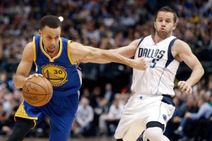 """STAYING FOCUSED --- When asked if failing to surpass the Bulls' historic 72-win plateau serve as motivation heading into the postseason, Curry, who turned 28 March 14, paused briefly then said, """"I would hope we have that same motivation either way. Winning a championship is the ultimate goal, and a regular season regular record, whether we have 73 wins, 69 wins, or 68, it doesn't bear any difference on how we're going to do in the playoffs."""""""